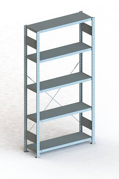 Steckregal 2000x1000x600 mm verzinkt Fachlast 150 Kg