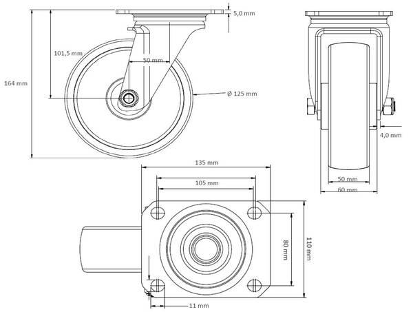 Präzisions Schweißer Draht Zufuhr Antriebsrollen Rolle zerteilt 0.8 1.2mm