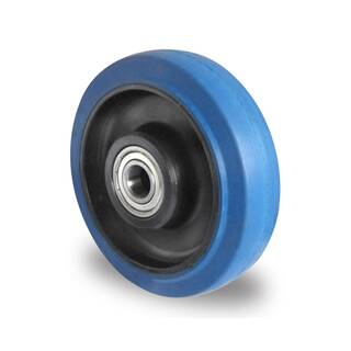 Einbaurad 160 mm Elastik Blue Wheels